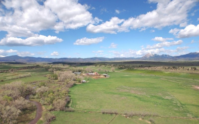 Cucharas River Ranch South – Irrigated Pasture, Water Rights!